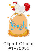 Chicken Clipart #1472036 by Graphics RF