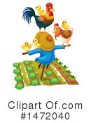 Chicken Clipart #1472040 by Graphics RF