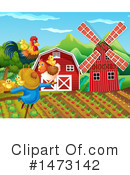 Chicken Clipart #1473142 by Graphics RF