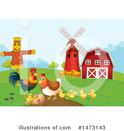 Scarecrow Clipart #1473143 by Graphics RF