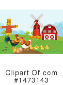 Chicken Clipart #1473143 by Graphics RF