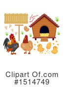 Royalty-Free (RF) Chicken Clipart Illustration #1514749