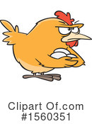 Chicken Clipart #1560351 by toonaday