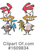 Chicken Clipart #1609834 by toonaday