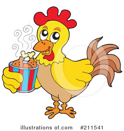 Chicken Clipart #211541 by visekart