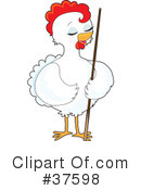 Chicken Clipart #37598 by Maria Bell