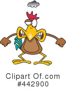 Royalty-Free (RF) Chicken Clipart Illustration #442900