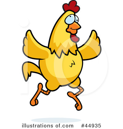 Rooster Clipart #44935 by Cory Thoman