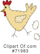 Chicken Clipart #71983 by inkgraphics
