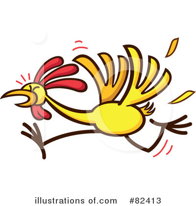 Royalty-Free (RF) Chicken Clipart Illustration by Zooco - Stock Sample #82413