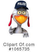 Chicken Police Clipart #1065735 by Julos