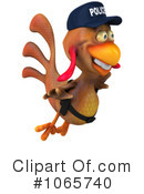 Chicken Police Clipart #1065740 by Julos