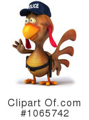 Chicken Police Clipart #1065742 by Julos