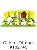 Chickens Clipart #102743
