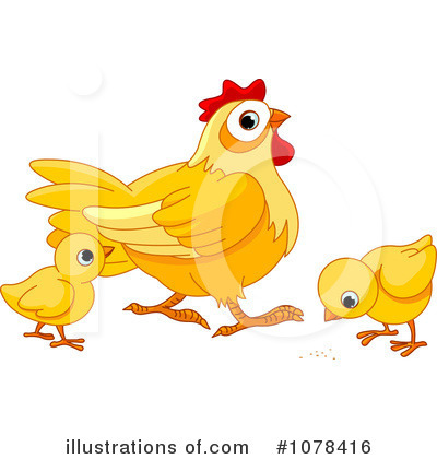 Chicken Clipart #1078416 by Pushkin