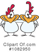 Chickens Clipart #1082950 by toonaday