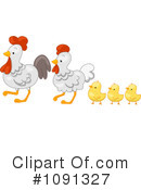 Chickens Clipart #1091327 by BNP Design Studio