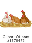Chickens Clipart #1378476 by BNP Design Studio