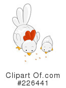 Chickens Clipart #226441 by BNP Design Studio