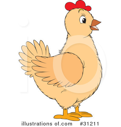 Chickens Clipart #31211 - Illustration by Alex Bannykh
