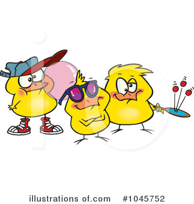 Chick Clipart #1045752 by toonaday