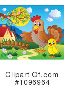 Royalty-Free (RF) Chicks Clipart Illustration #1096964
