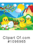 Royalty-Free (RF) Chicks Clipart Illustration #1096965