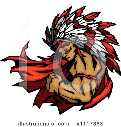Native American Clipart #1117363 by Chromaco