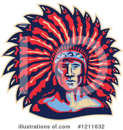 Native American Clipart #1211632 by patrimonio