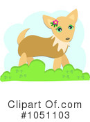 Royalty-Free (RF) Chihuahua Clipart Illustration #1051103