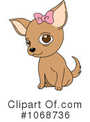 Royalty-Free (RF) Chihuahua Clipart Illustration #1068736