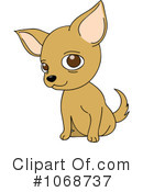 Royalty-Free (RF) Chihuahua Clipart Illustration #1068737