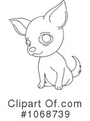 Royalty-Free (RF) Chihuahua Clipart Illustration #1068739