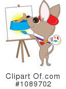 Chihuahua Clipart #1089702 by Maria Bell