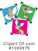 Royalty-Free (RF) Chihuahua Clipart Illustration #1089875