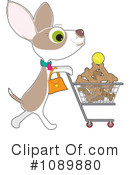 Royalty-Free (RF) Chihuahua Clipart Illustration #1089880