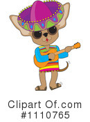 Royalty-Free (RF) Chihuahua Clipart Illustration #1110765