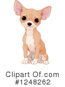 Chihuahua Clipart #1248262 by Pushkin