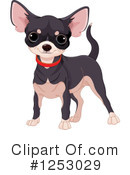 Royalty-Free (RF) Chihuahua Clipart Illustration #1253029