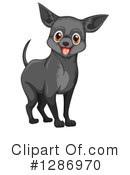 Royalty-Free (RF) Chihuahua Clipart Illustration #1286970