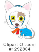Royalty-Free (RF) Chihuahua Clipart Illustration #1292804