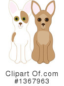 Royalty-Free (RF) Chihuahua Clipart Illustration #1367963