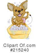 Royalty-Free (RF) Chihuahua Clipart Illustration #215240