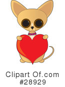 Royalty-Free (RF) Chihuahua Clipart Illustration #28929