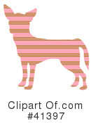 Royalty-Free (RF) Chihuahua Clipart Illustration #41397