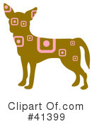 Royalty-Free (RF) Chihuahua Clipart Illustration #41399