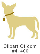 Royalty-Free (RF) Chihuahua Clipart Illustration #41400