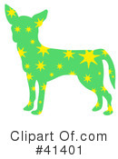 Royalty-Free (RF) Chihuahua Clipart Illustration #41401