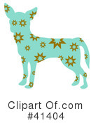Royalty-Free (RF) Chihuahua Clipart Illustration #41404