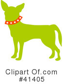 Royalty-Free (RF) Chihuahua Clipart Illustration #41405